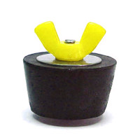 #7 Winter Plug 1.25 in. Pipe Colored Wingnut (Yellow) (SP207CC)