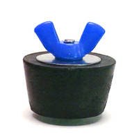 #8 Winter Plug 1.5 in. Pipe Colored Wingnut (Blue) (SP208CC)