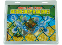 Blue Torrent Chain Link Fence Accessory Hangers - (2 pack, Blue) (BS05843)
