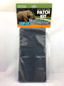 "Loop-Loc 3-Pack of 4"" x 8"" Patches (Mesh Patch Grey Self Adhesive) (LLMPKG)"