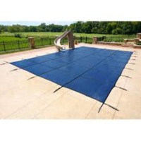 GLI ProMesh 18' X 40' (Rect.) Blue Inground Safety Cover (20-1840RE-PRM-BLU)