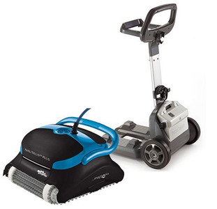 Dolphin Nautilus CC Plus Robotic Pool Cleaner with Pro Caddy