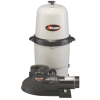 Hayward XStream Full-Flo Above Ground Filter System - 150sq. ft. With 1 1/2HP Power-Flo Matrix Pump (W3CC15093S)