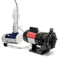 Polaris PLS280 280 Pressure Side Automatic Pool Cleaner And PB4-60 Booster Pump