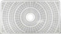 Anthony Rectangular DE Filter Grid w/Center Hub Port 24 Inch x 13.5 Inch (APCFGR12)