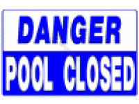 Poolstyle Danger - Pool Closed (Ps248)