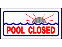 Poolstyle Sign Pool Closed (Ps230)