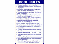 Poolstyle Sign Pool Rules Sc Approved (Ps238)