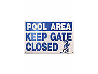 Poolstyle Please Keep Gate Closed Sign (Sw-7)