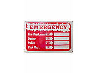 Poolstyle Emergency Phone Location Sign (Sw-14)