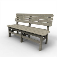 """Sister Bay Country 60"""" Bench (MCTY-60)"""
