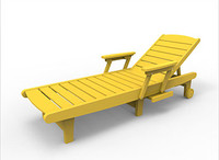 Sister Bay Delray Chaise Lounge (MDEL-CL)