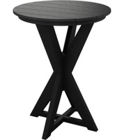 Sister Bay Hudson Pub Height Bistro Table (MHUD-DT30B)