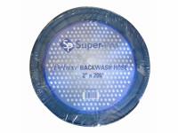 "Super-Pro 1.5""x25' Deluxe Backwash Hose 2124WBUSD025 (SPG-40-1110)"