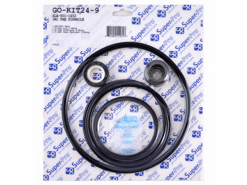 Super Pro Gasket Amp O Ring Kit For Pac Fab Pinnacle Pump Go