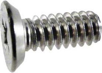 Pentair Captive Screw #10-24 x 3/8 Inch for AquaLumin, Stainless Steel, 78889900 (AMP-301-2416)
