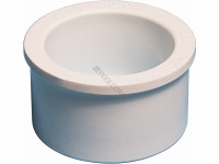 Waterway Reducer Bushing, 2in. SPG x 1/2in. Slip, White, 421-4070 (WWP-451-0130)