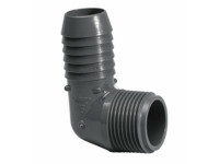 "Lasco 1-1/2"" PVC Combination Elbow (MIPT) 1413015 (LAS-56-4475)"