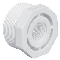 "LASCO 1-1/4"" MNPT x 1"" FNPT PVC Reducing Bushing Sched 40, 439168 (LAS-56-4440)"