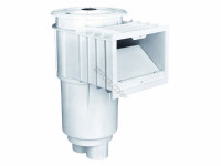 Sta-Rite U-3 Skimmer with Float Valve Concrete Pools, White, 08650-1403