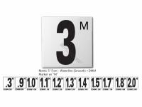Metric .9m Fp Depth Marker