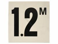 Non-skid Bw Depth Marker - INL-37-4001