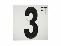 3 Ft Ab Fp Depth Marker