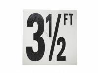3-1/2 Ft Ab Fp Depth Marker