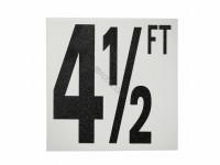 4-1/2 Ft Ab Fp Depth Marker