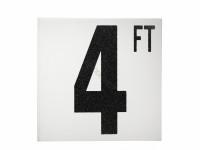 4 Ft Ab Fp Depth Marker