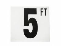5 Ft Fp Depth Marker