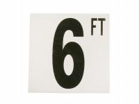 6 Ft Fp Depth Marker
