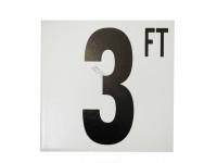 3 Ft Fp Depth Marker