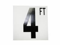 4 Ft Fp Depth Marker