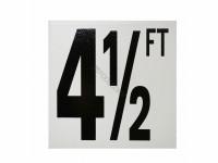 4-1/2 Ft Fp Depth Marker