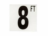 8 Ft Fp Depth Marker