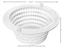 Seasonmaster Skimmer Basket With Tabs (APCB214)