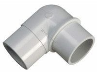 "Lasco 90 degree Elbow SP X SP 1.5"", B124100 (LAS-56-4517)"