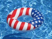 "36"" Americana Swim Ring"