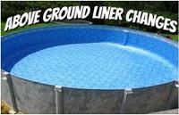 Above Ground Liner Installation
