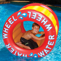 "Swimline Water Wheel 9089 Inflated Size Approx 42"" x 45"""