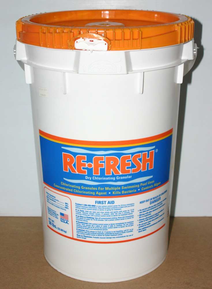 Re-Fresh Dry Chlorinating Granular 50lb Bucket