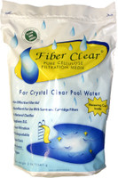 The Fiber Clear Cellulose Filter Media D.E. Alternative for Swimming Pools is a safe alternative to Diatomaceous earth needed for DE filters. Only one pound of this biodegradable, non-toxic material is required to get the same results as 8 lbs. of D.E.