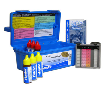 Taylor Bromine Test Kit (K-2106) FAS-DPD kits feature six different standards for pH (7.0 to 8.0).