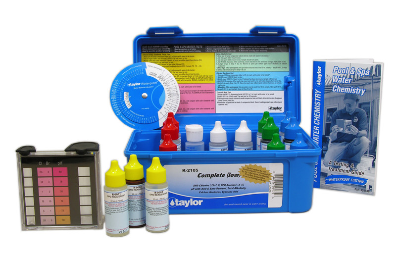 Taylor Complete (Low) Test Kit 6-Pak (K-2105-6)