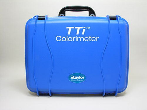 Taylor polypropylene blue carrying case w/insert CMTR (9504)