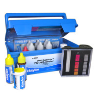 Taylor Pool Inspector kit for Chlorine, pH, CYA (FAS-DPD–high range) (K-2009)