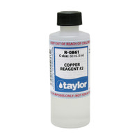 Taylor Copper #2 Reagent - 2 Oz. (60 mL) Bottle (R-0861-C)
