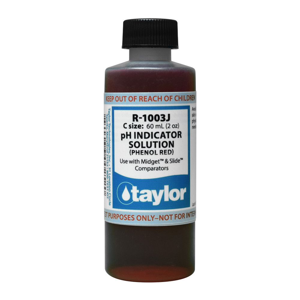 Taylor Phenol Red - 2 Oz (R-1003J-C)