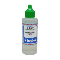 Taylor Thiosulfate #7 Reagent N/10 - 2 Oz. (60 mL) Dropper Bottle (R-0007-C)